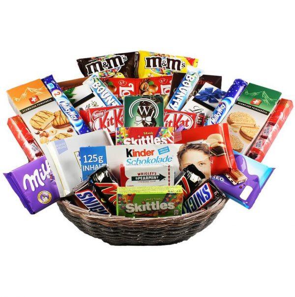 Attack the Snacks - Christmas Chocolate Gift Basket