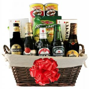 Boys Night Out Gift Basket – Christmas Gift