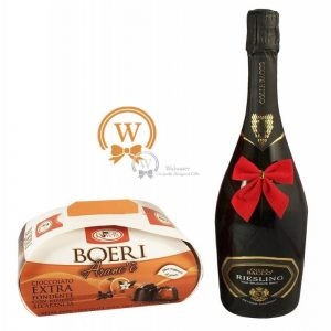 Classic Business Gift With Sparkling Wine – Christmas Gift