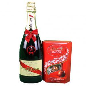G.H. Mumm & Lindor Pralines – Christmas Gift