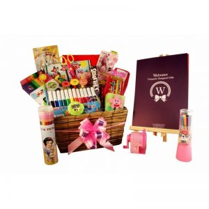 Girl Creativity – Back to School Christmas Gift Basket