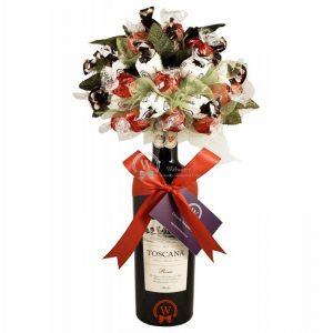 Red Wine Chocolate Topper – Christmas Gift
