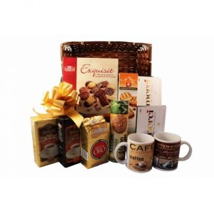 The Coffee Way – Christmas Coffee Gift Basket