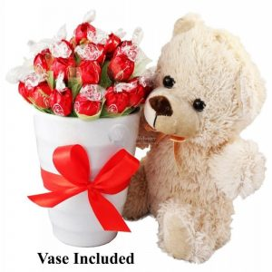 True Love Now & Forever Sweet Bouquet – Christmas Gift