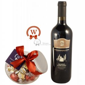 Truffles in a Jar with Red Wine – Christmas Gift