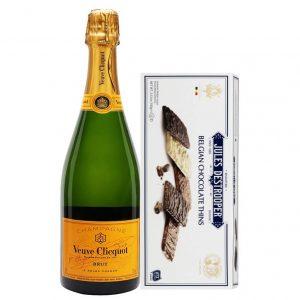 Veuve Clicquot & Jules Destrooper – Christmas Gift