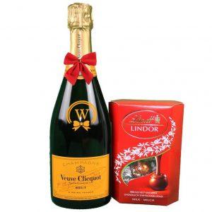 Veuve Clicquot & Lindor Pralines – Christmas Gift