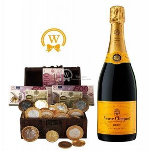 Veuve Clicquot Treasure Chest Craft Kit – Christmas Gift