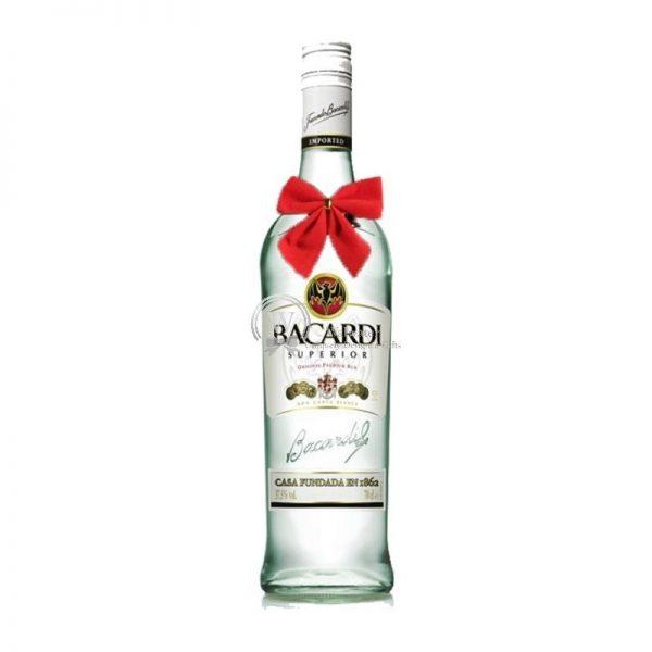 Bacardi Superior Rum Puerto Rico 700ml - Christmas Gift