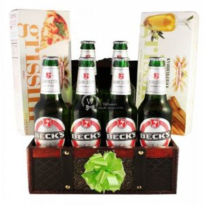 Beck's For Good – Beer Christmas Gift Basket