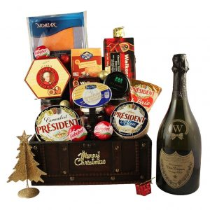 Beyond Appreciation Treasure Box- Luxury Christmas Gift Basket