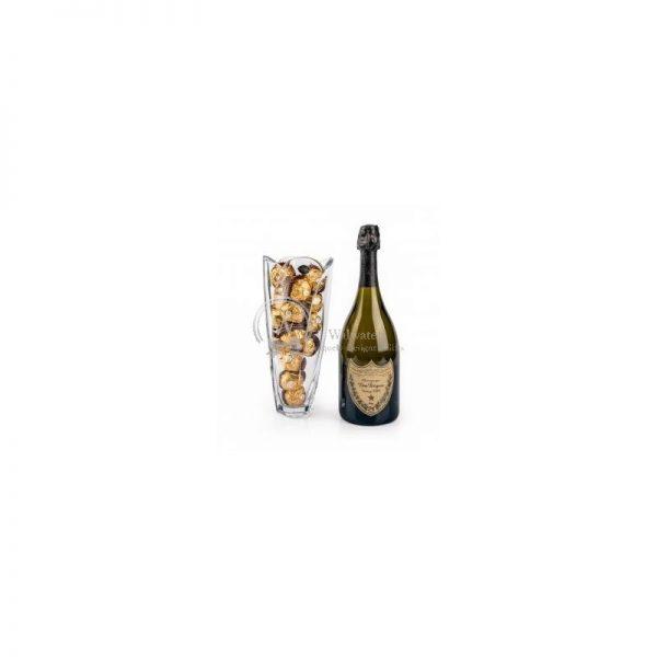 Bohemia Crystal and Dom Perignon - Luxury Christmas Gift Set