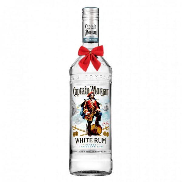 Captain Morgan White Rum 700ml - Christmas Gift