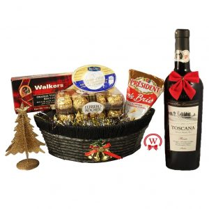 Cheese & Pate celebration – Christmas Gift Basket