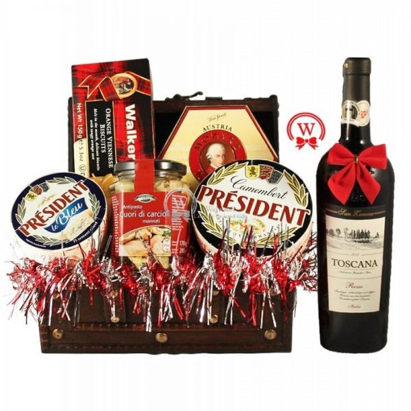 Cheese and Wine Party - Christmas Gift