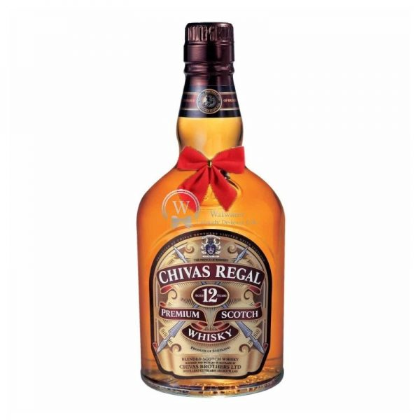 Chivas Regal 12 Year Old Blended Scotch 700ml - Christmas Gift