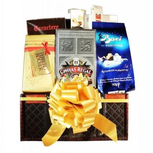Chivas Regal – Whiskey Christmas Gift Basket