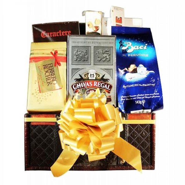 Chivas Regal - Whiskey Christmas Gift Basket