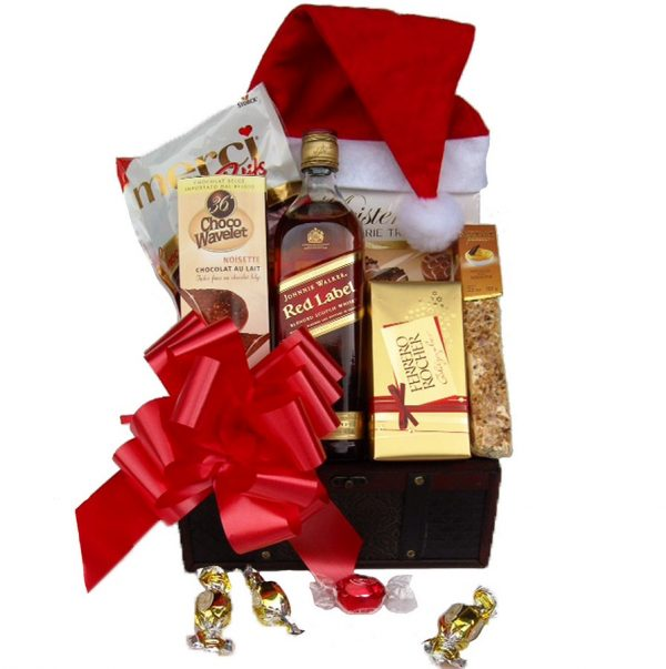 Christmas Red Johnnie Walker - Christmas Gift