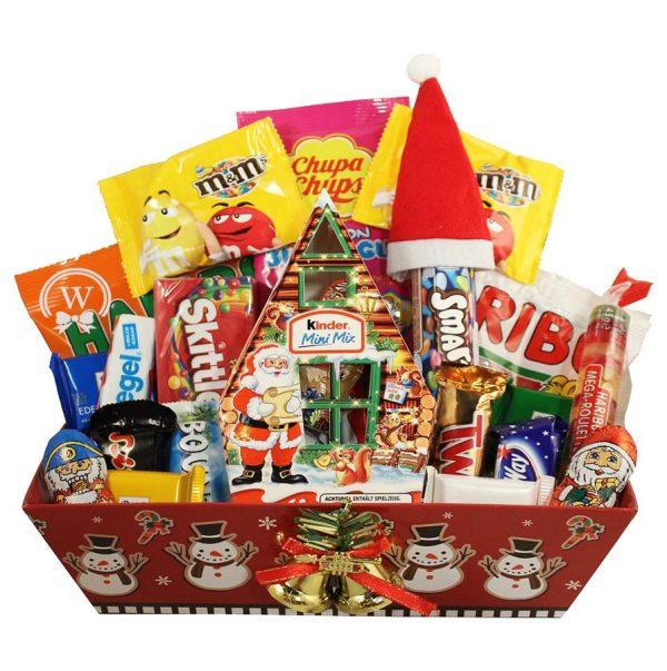 Christmas Retro Sweet Christmas Gift Basket