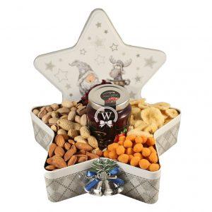 Christmas Star with Nuts – Christmas Gift