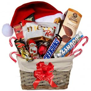 Christmas Treat Christmas Gift Basket