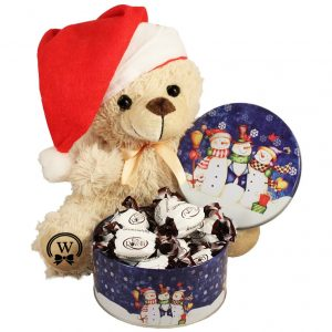 Christmas Treats with A Teddy Bear Gift