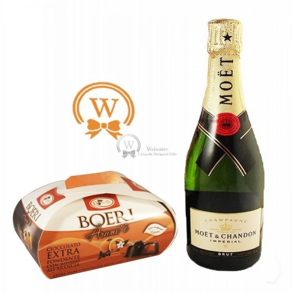 Classic Business Gift With Moet - Christmas Gift