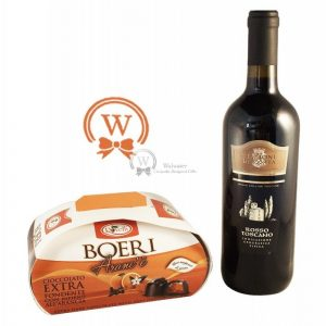 Classic Business Gift With Red Wine – Christmas Gift