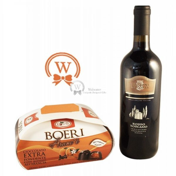 Classic Business Gift With Red Wine - Christmas Gift