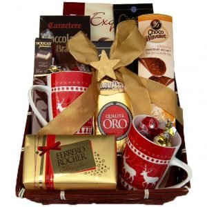 Coffee With Monika Christmas Gift Basket