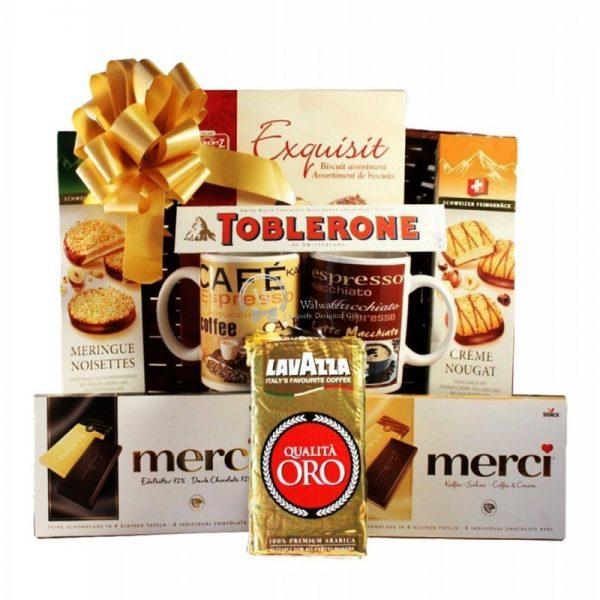 Coffee for you - Coffee Christmas Gift Basket