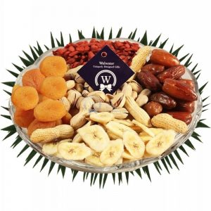 Dried Fruits and Pistachio Platter – Christmas Gift
