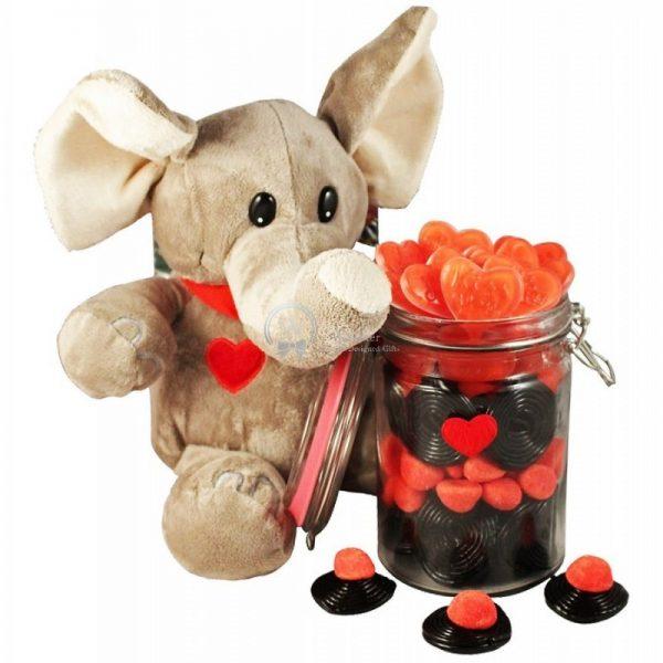 Elephant Love Jar - Christmas Gift