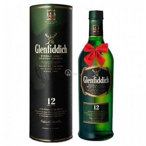 Glenfiddich Signature 12 Year Old Speyside Single Malt Scotch 700ml – Christmas Gift