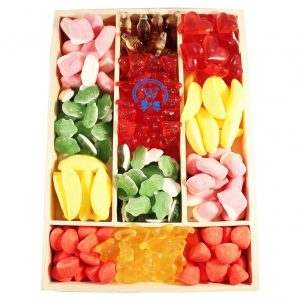 Haribo Surprise Wooden Christmas Gift Basket