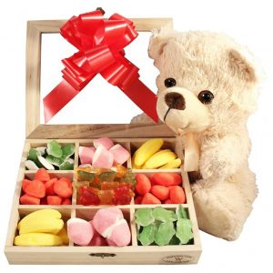 Haribo Teddy Christmas Kit – Christmas Gift Basket