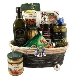 Health is First Priority – Healthy Christmas Gift Basket
