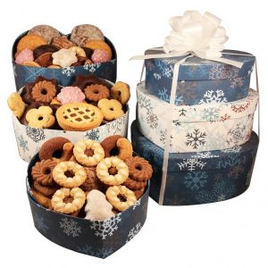 Heart Shape Cookies Tower – Christmas Gift