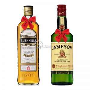 Irish Dual Dance – Irish Whiskey Christmas Gift Set