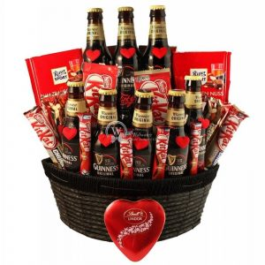 Irish Love Story – Guinness Beer Christmas Gift Basket