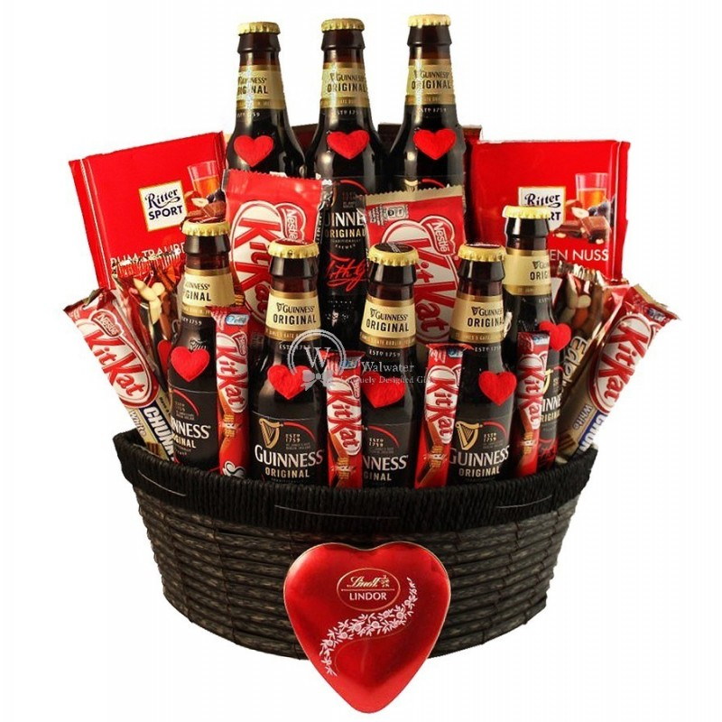 Irish Love Story - Guinness Beer Christmas Gift Basket ...