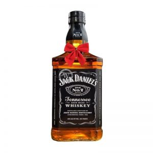 Jack Daniel's Old No. 7 Black Label Tennessee Whiskey 700ml – Christmas Gift