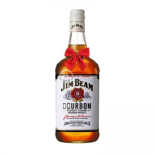 Jim Beam White Label Bourbon Whiskey 700ml – Christmas Gift