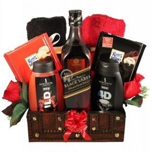 Johnnie, My Real Man – Luxury Christmas Gift Basket