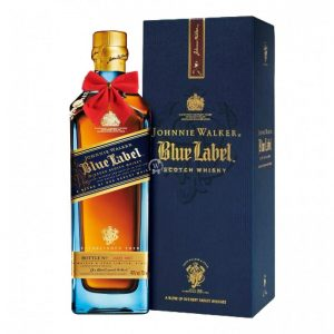Johnnie Walker Blue Label Blended Scotch 700ml – Christmas Gift