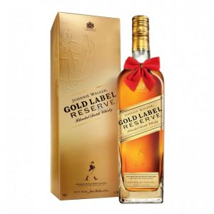 Johnnie Walker Gold Label Reserve Blended Scotch 700ml – Christmas Gift