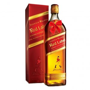 Johnnie Walker Whiskey Red Label 700ml – Christmas Gift