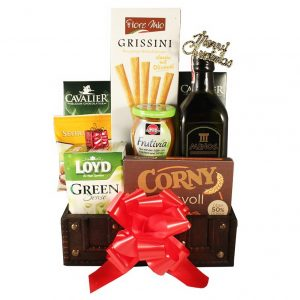 Keeping You in Shape – Healthy Christmas Gift Basket