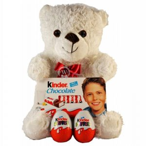 Kinder Surprise Teddy – Christmas Gift